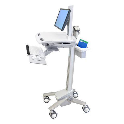 StyleView EMR Cart with LCD Pivot