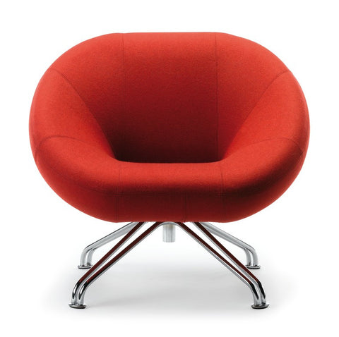 RBM Sweep armchair Red Front