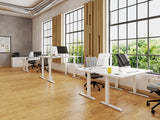 Vision Two Electric Adjustable Desk Office