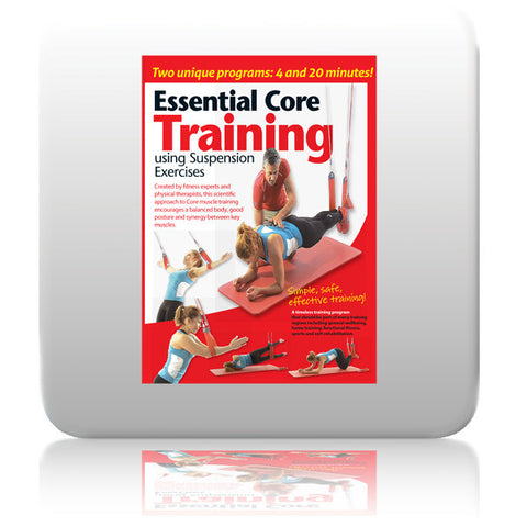 Essential Core Training using Suspension Exercises DVD