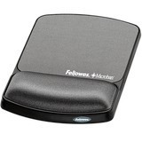 Fellowes Mouse Pad & Wrist Rest Grey