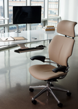 Humanscale Freedom Brown Leather