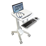 StyleView EMR Laptop Cart SV40