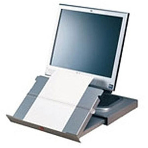 Twin Line CopyHolder with Slide-away Drawer