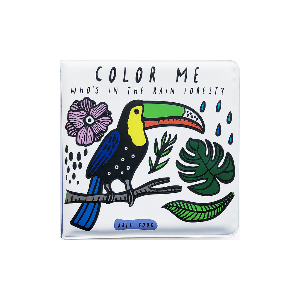 Color Me: Who's In the Rainforest? (Bath Book)
