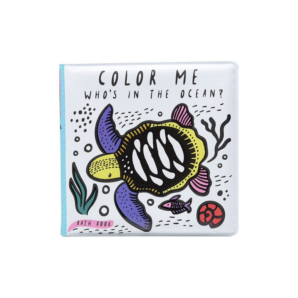 Color Me: Who's In the Ocean? (Bath Book)
