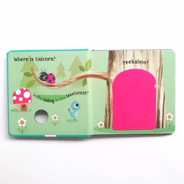 Peekaboo Lift The Flap : peekaboo ! Unicorn (Board Book)