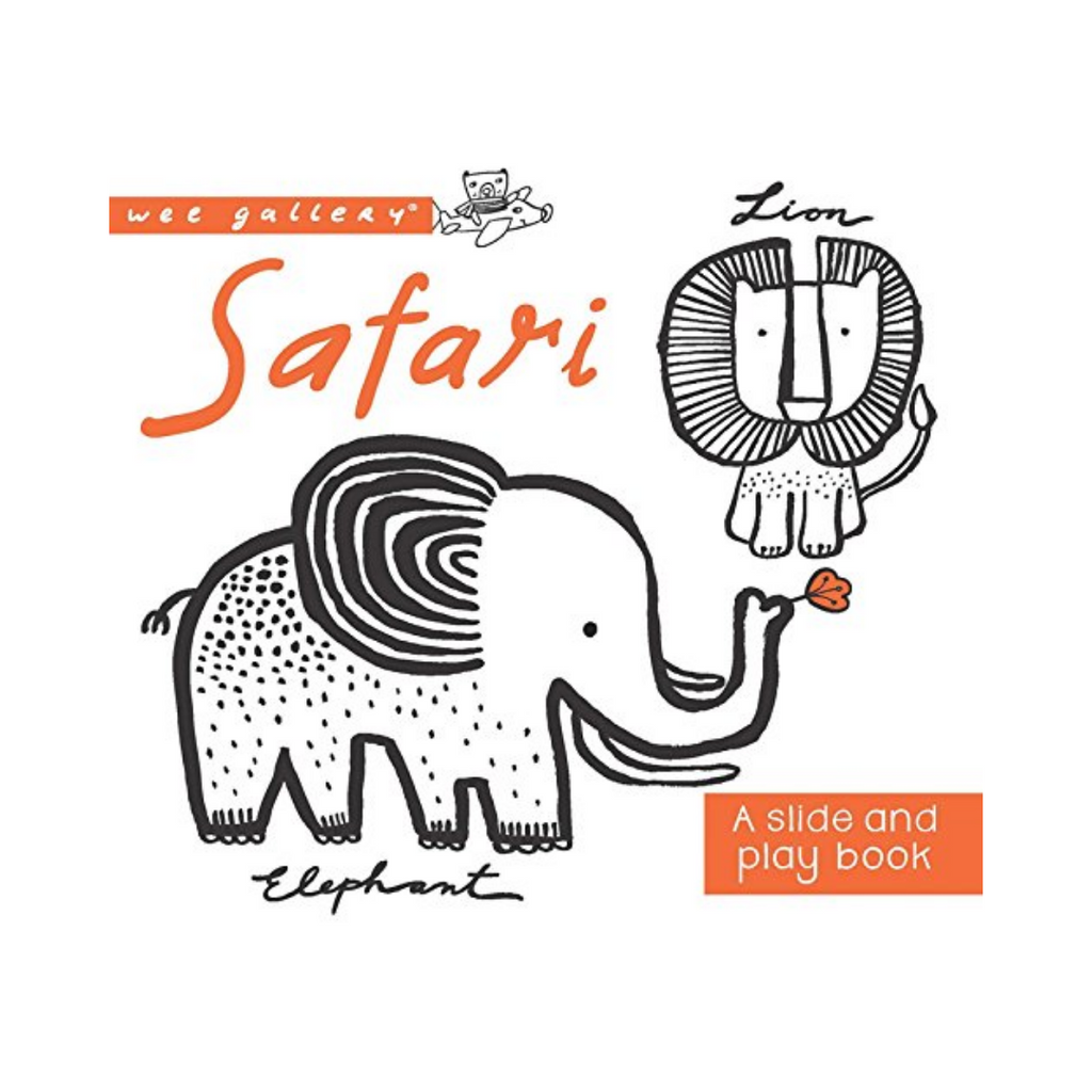 A Slide and Play Book: Safari (Board Book)