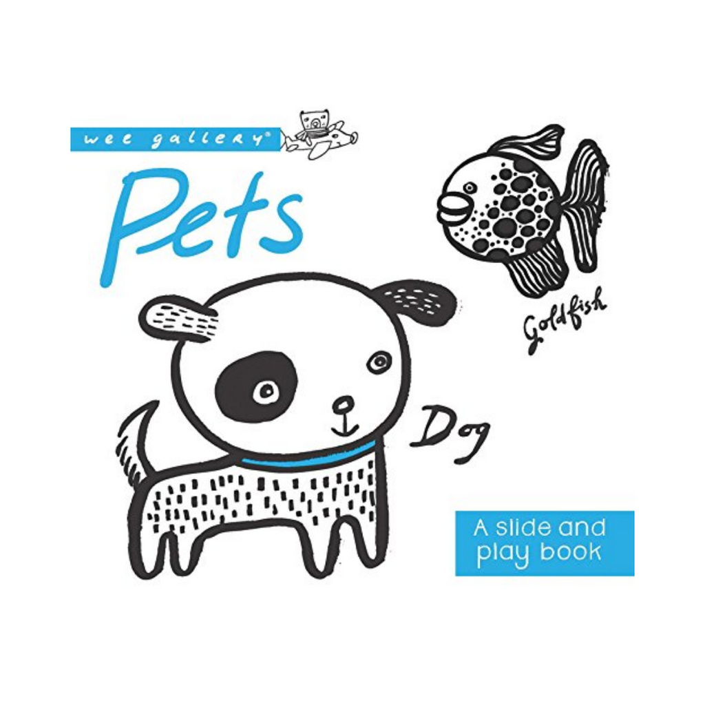 A Slide and Play Book: Pets (Board Book)
