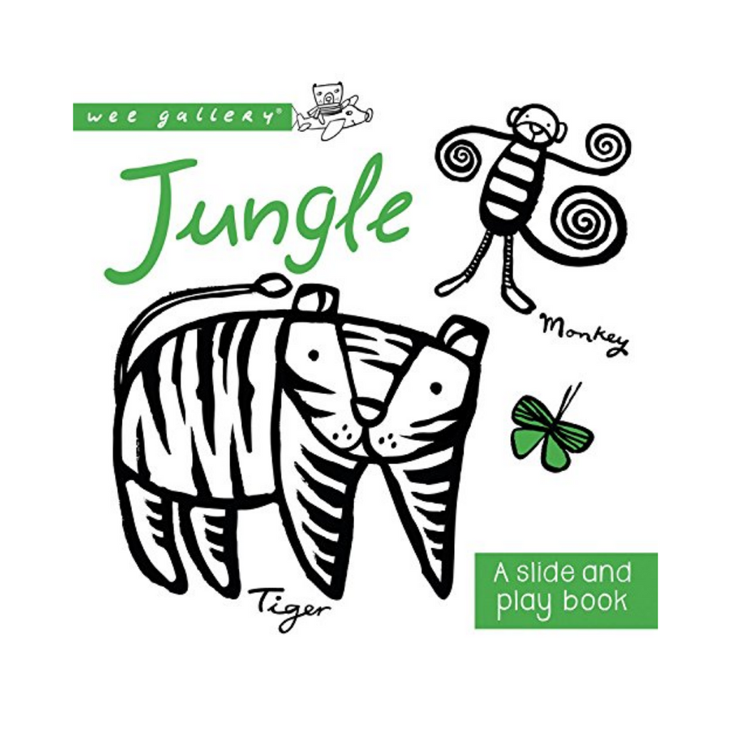 A Slide and Play Book: Jungle (Board Book)