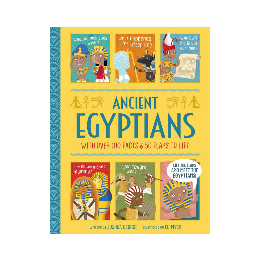 Lift The Flap History : Ancient Egyptians (Hardback)