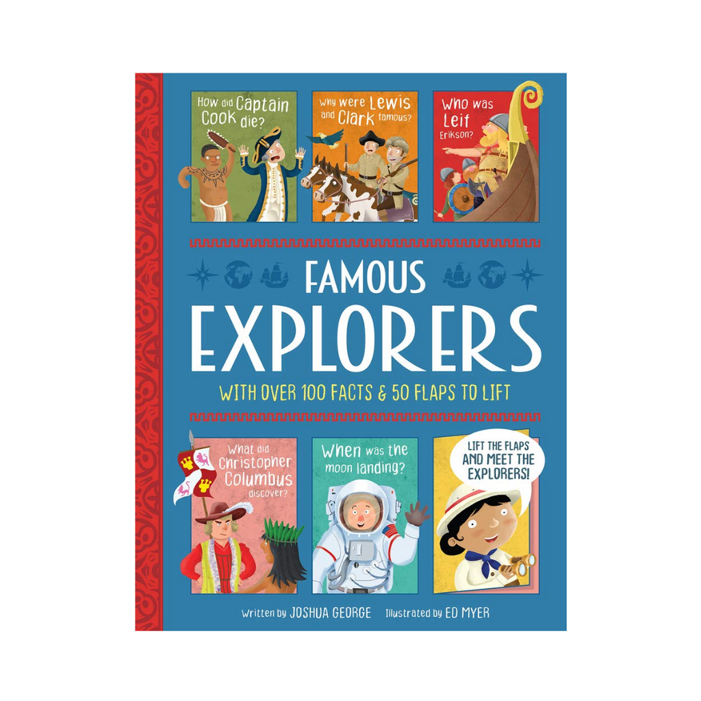 Lift The Flap History : Famous Explorers (Hardback)