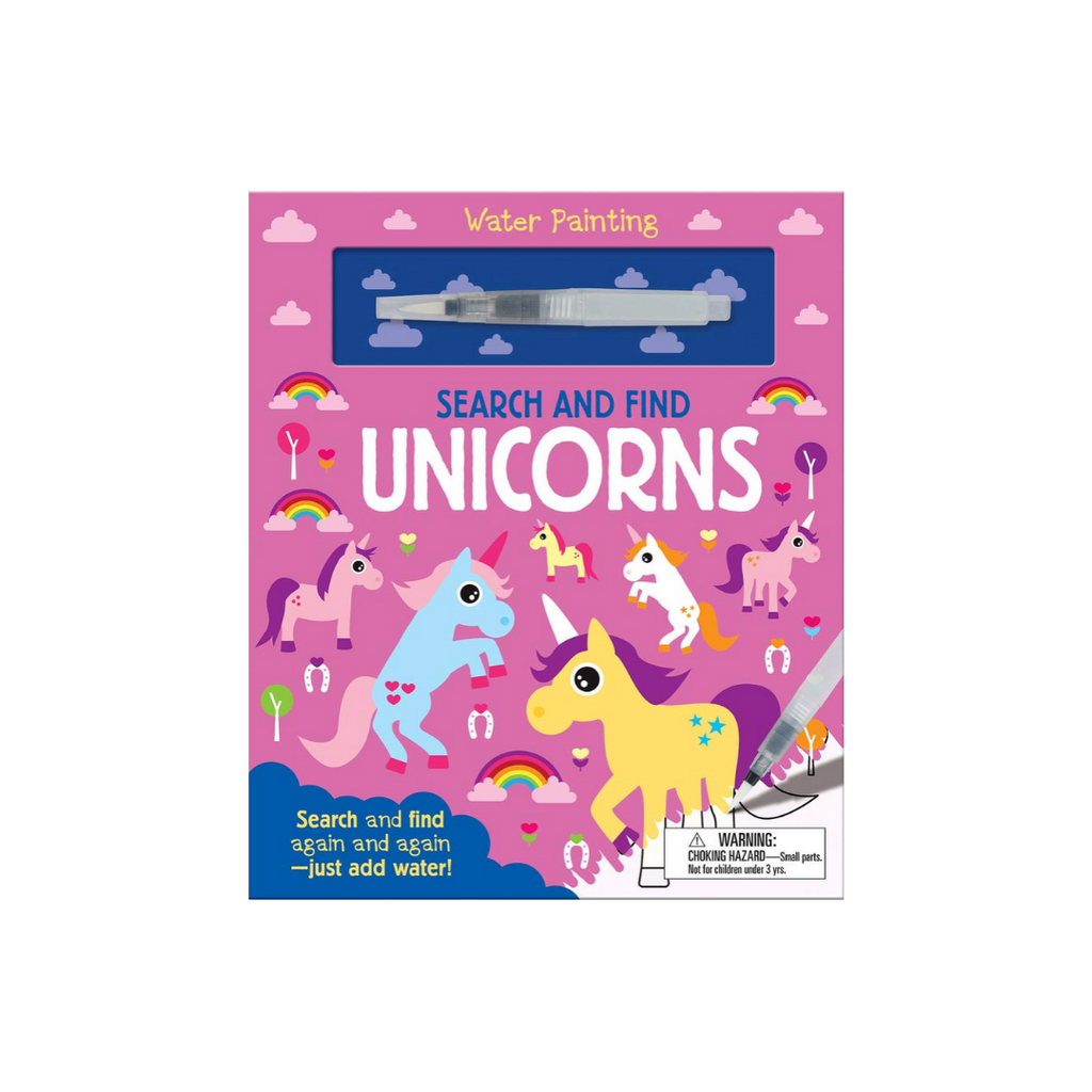 Search and Find Unicorns (Water Painting Search and Find) (Hardback)