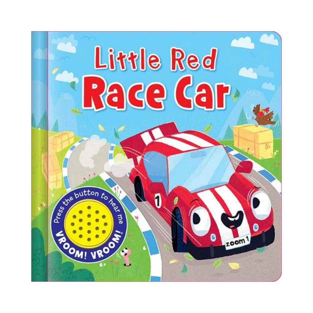 Sound Book: Little Race Car (Board Book)