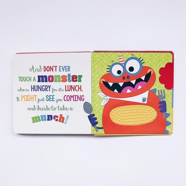Never Touch a Monster! (Board Book)