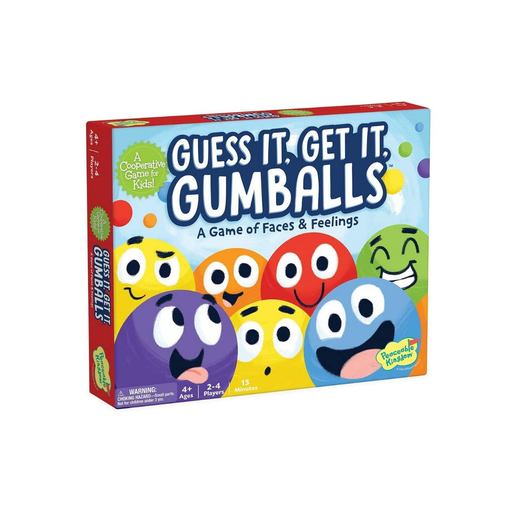 Peaceable Kingdom Guess It Get It Gumballs: A Game of Faces & Feelings