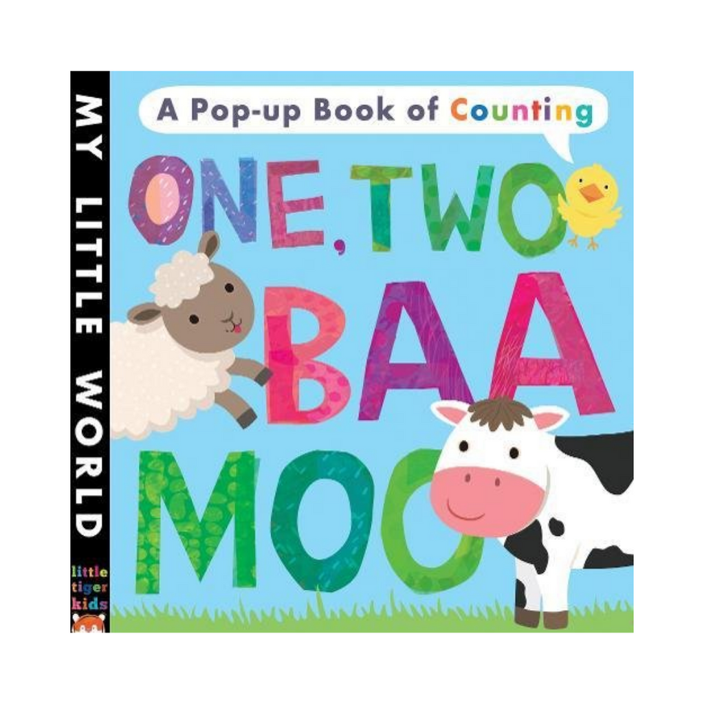 My Little World: One, Two Baa Moo: A Pop-Up Book of Counting (Board Book)