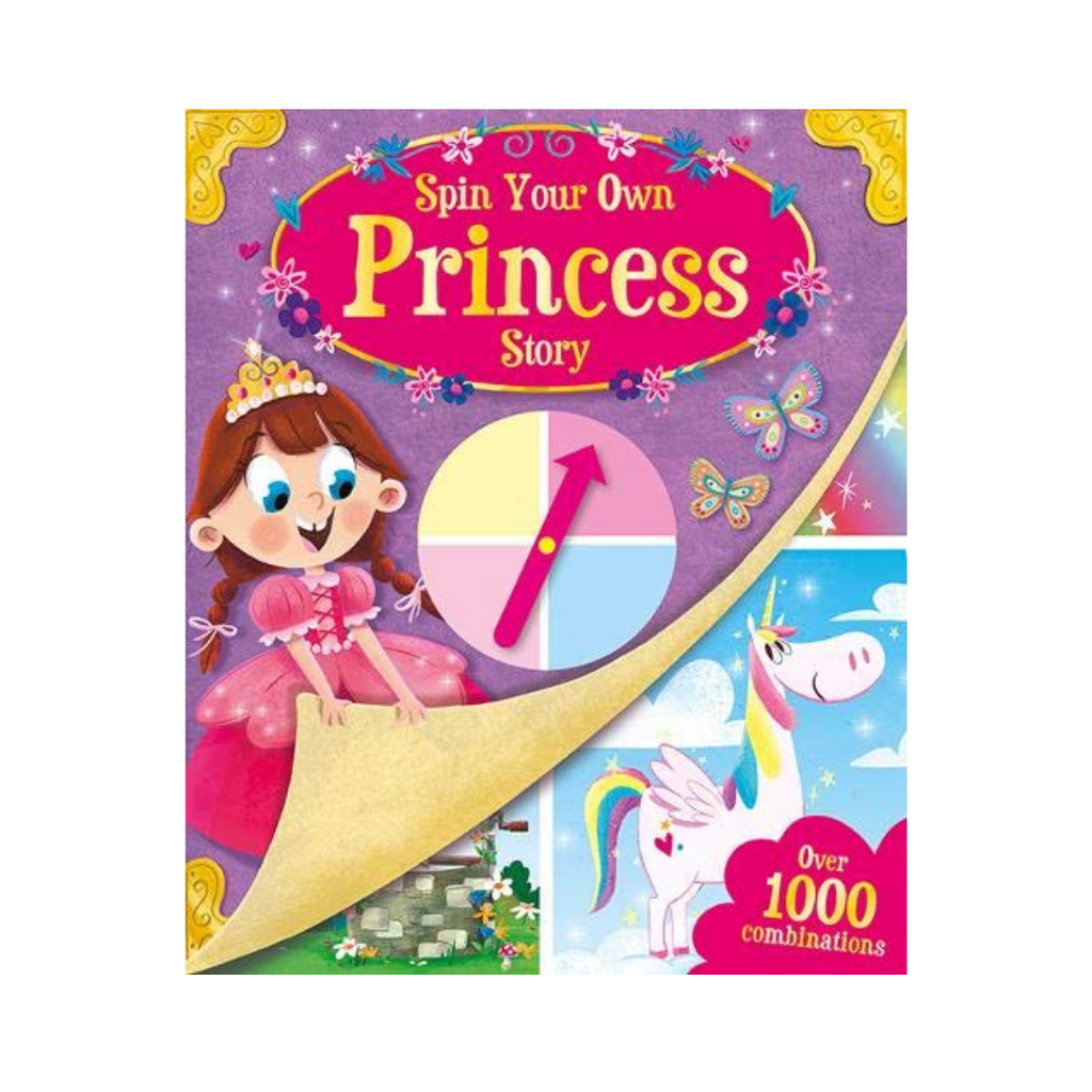 Spin Your Own : Princess Story (Hardback)