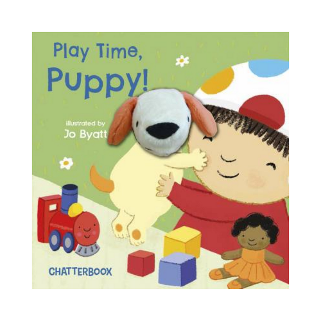 Play Time, Puppy!: With Attached Finger Puppet (Board Book)