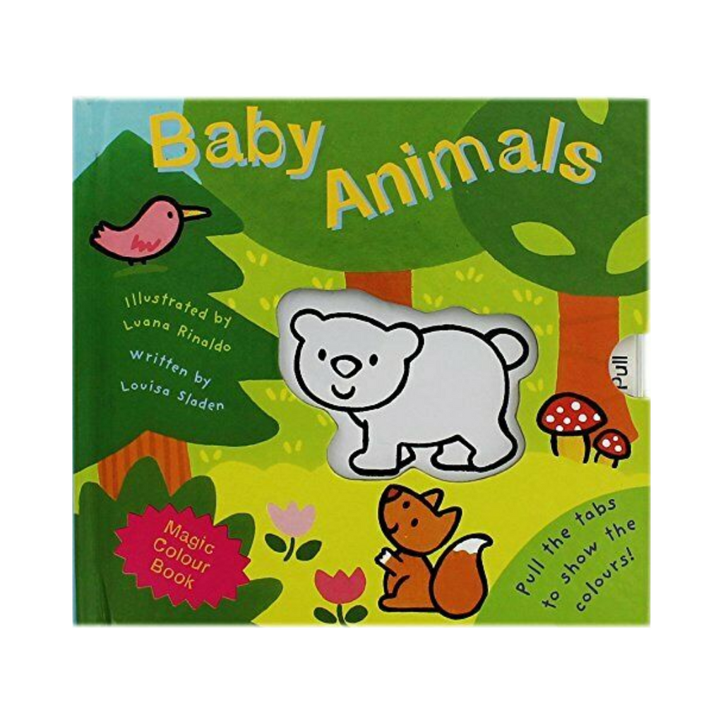 Magic Colour Book: Baby Animals (Board Book)