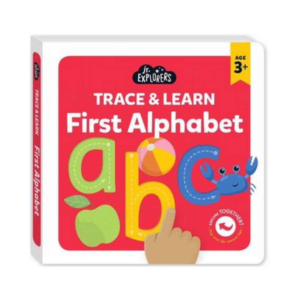 Junior Explorers: Trace & Learn First Alphabet (Board Book)