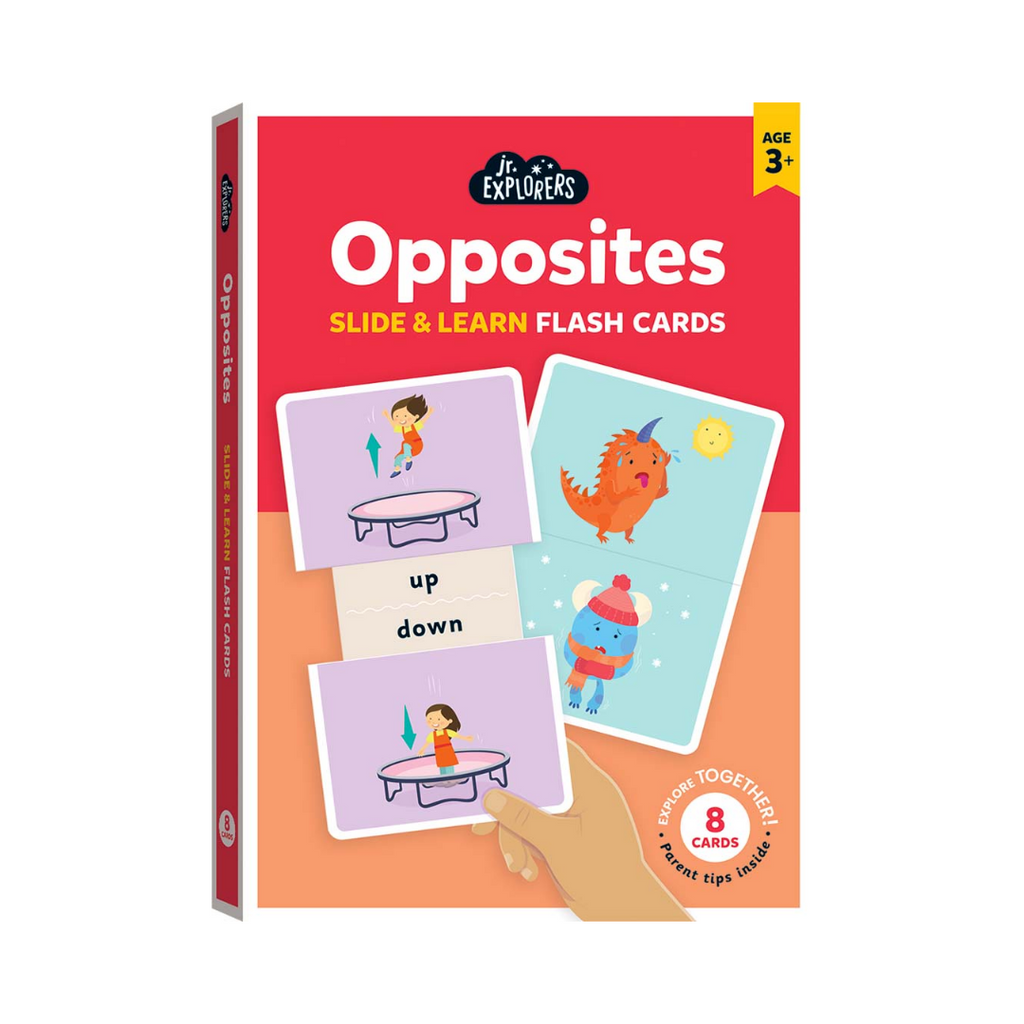 Junior Explorers: Slide and Learn Flashcards: Opposites (Flashcards)