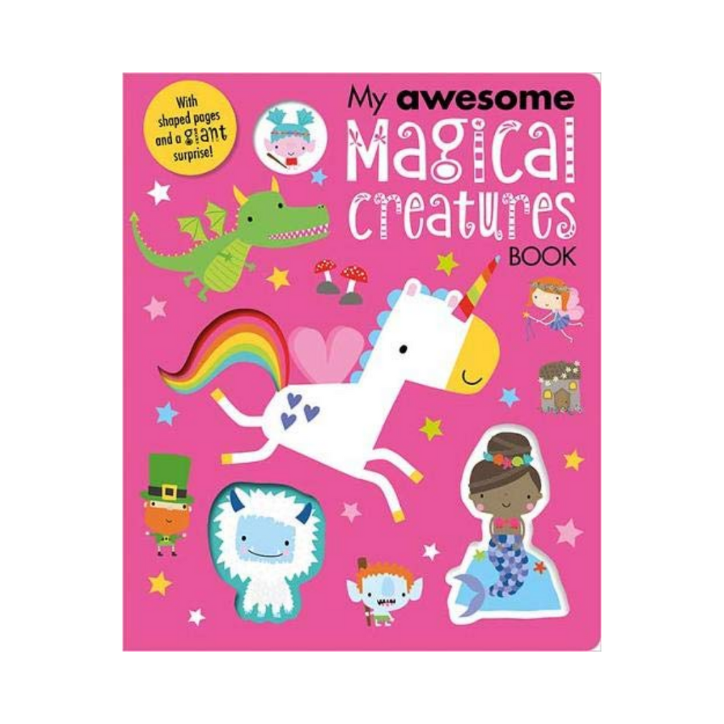 My Awesome Magical Creatures Book (Board Book)