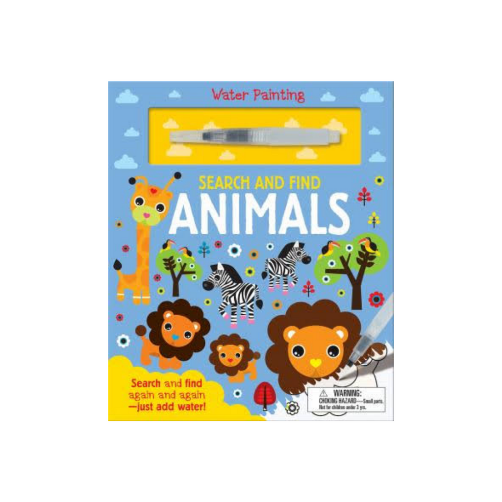 Search And Find: Animals (Water Painting Search and Find) (Hardback)