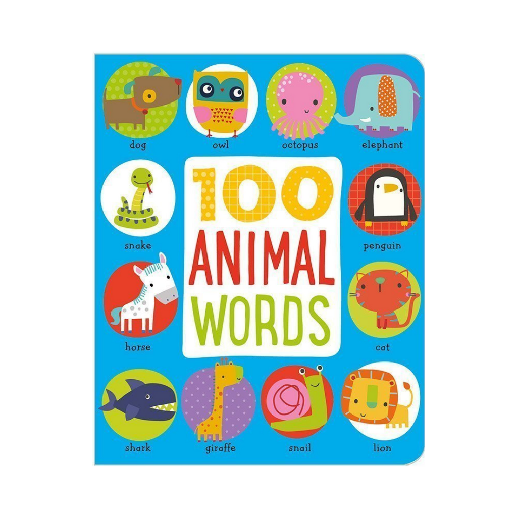 First 100 Animals (Board Book)