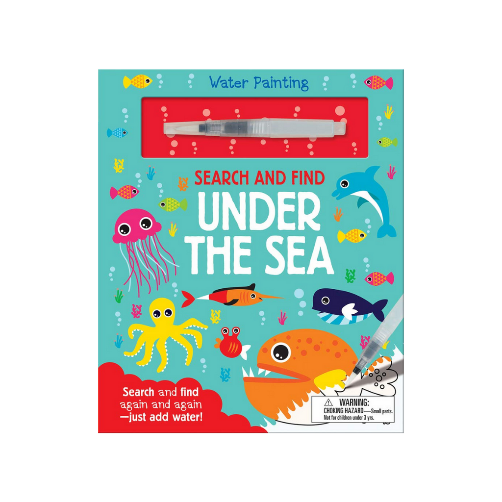 Search And Find: Under The Seas (Water Painting Search and Find) (Hardback)