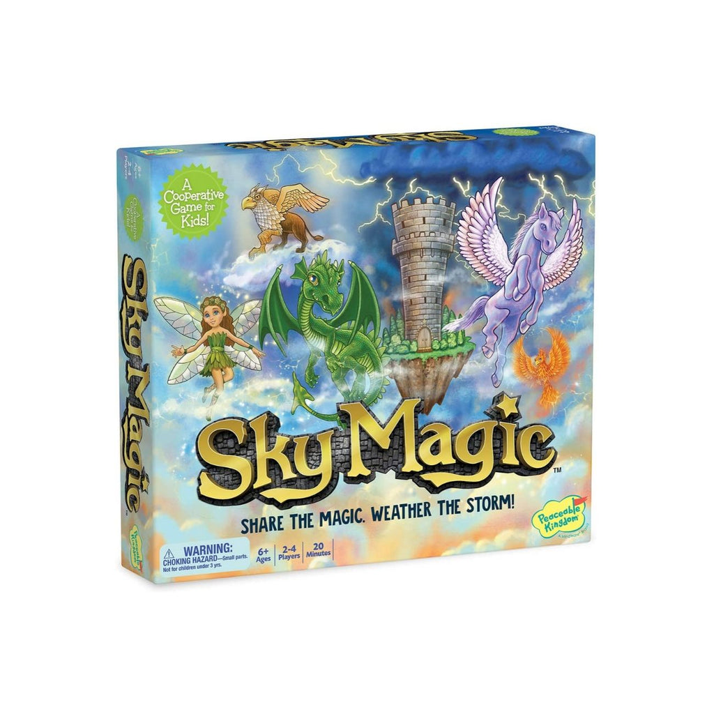 Peaceable Kingdom Sky Magic: A Continuously Shifting Cooperative Game