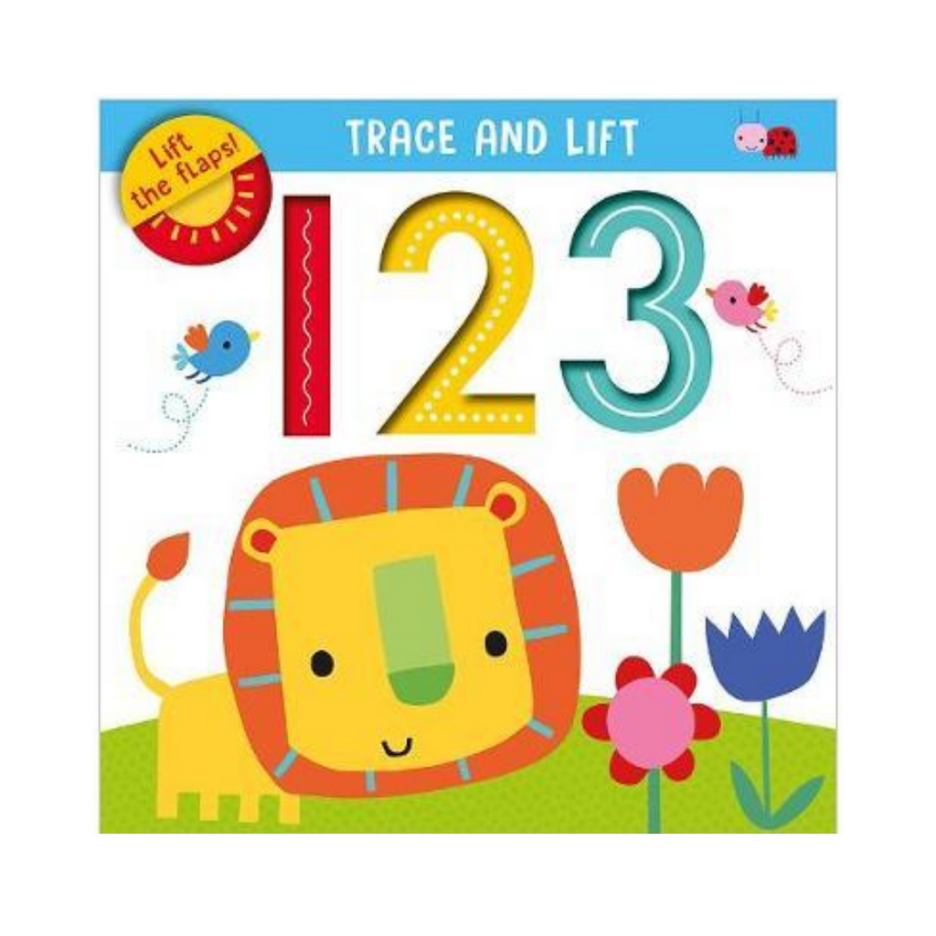 Trace And Lift 123 (Board Book)