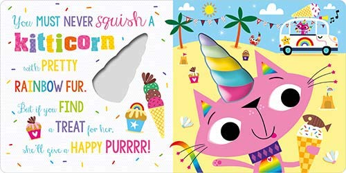 Never Squish a Unicorn! (Board Book)