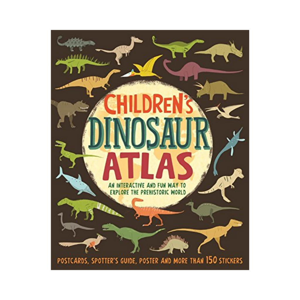 Children`S Dinosaur Atlas (Hardback)