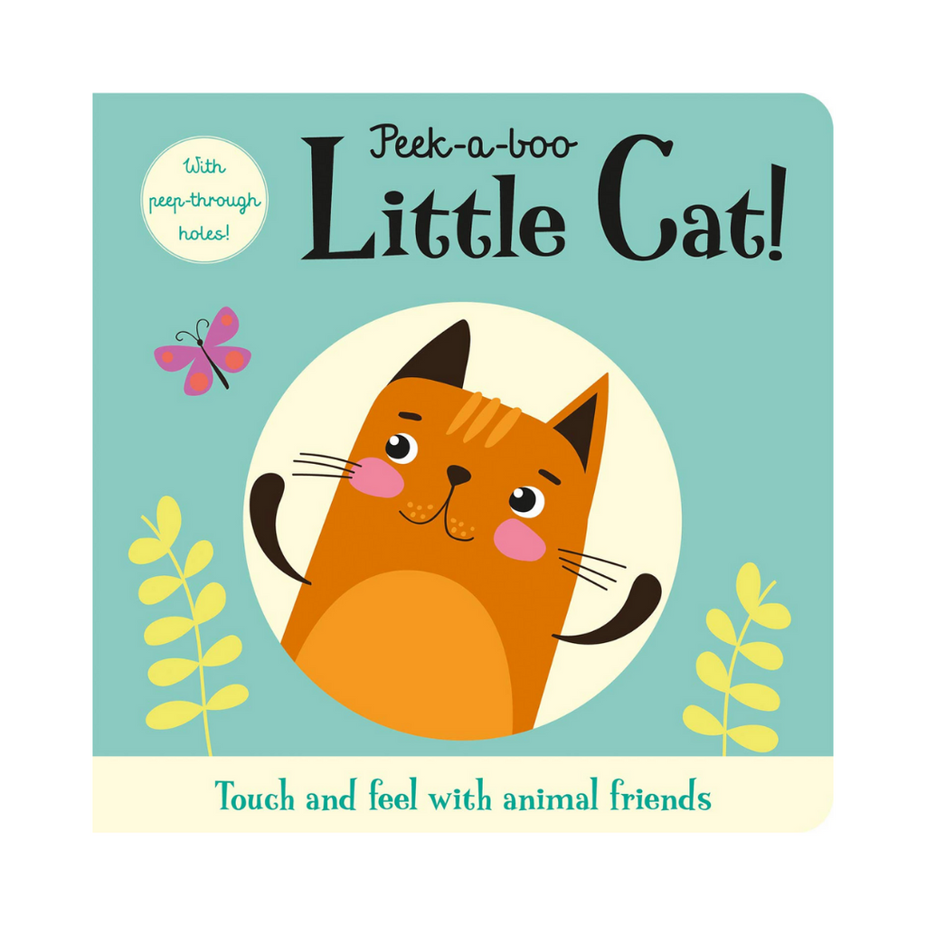 Touch and Trace: Peek A Boo Little Cat (Board Book)