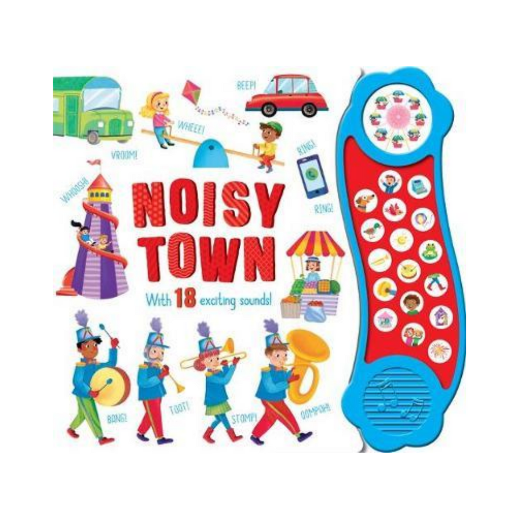 Sound Book : Noisy Town (Board Book)