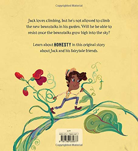 Fairytale Friends: Jack Breaks the Beanstalk - A Story About Honesty (Paperback)
