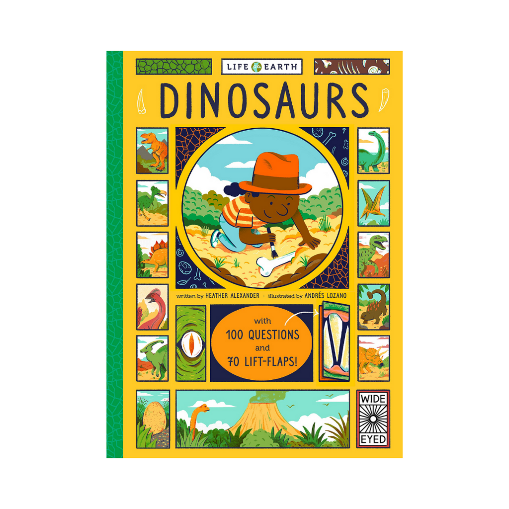 Life On Earth: Dinosaurs (Hardback)