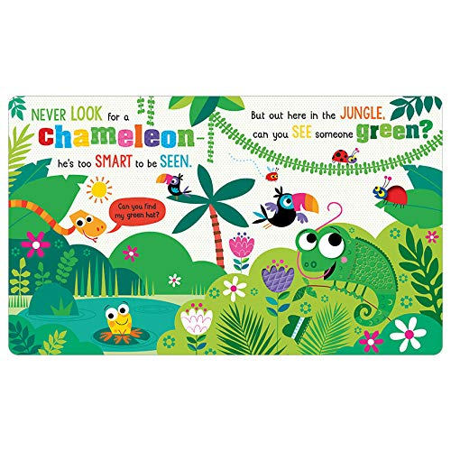 Never Look for a Chameleon! (Board Book)