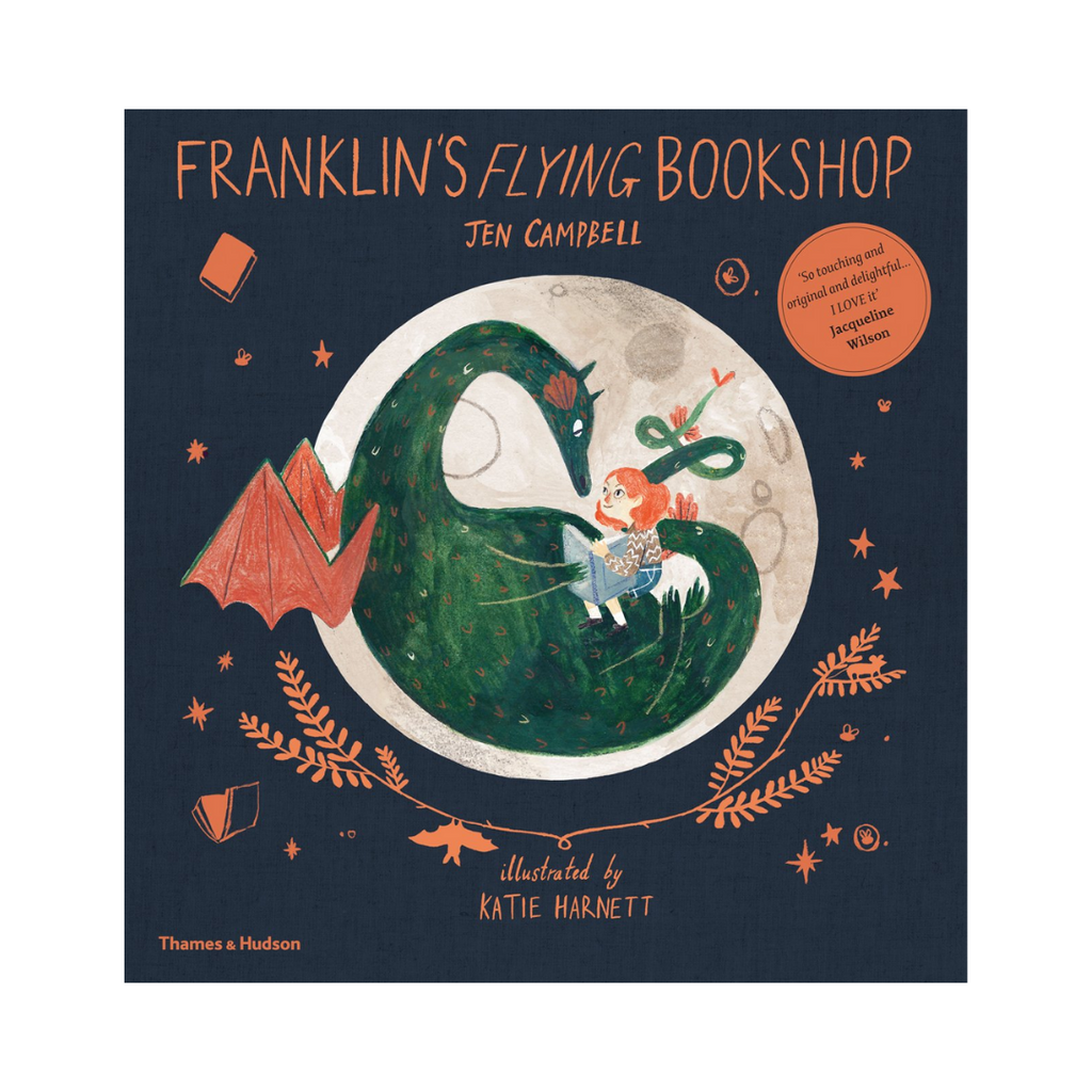 Franklin's Flying Bookshop (Paperback)