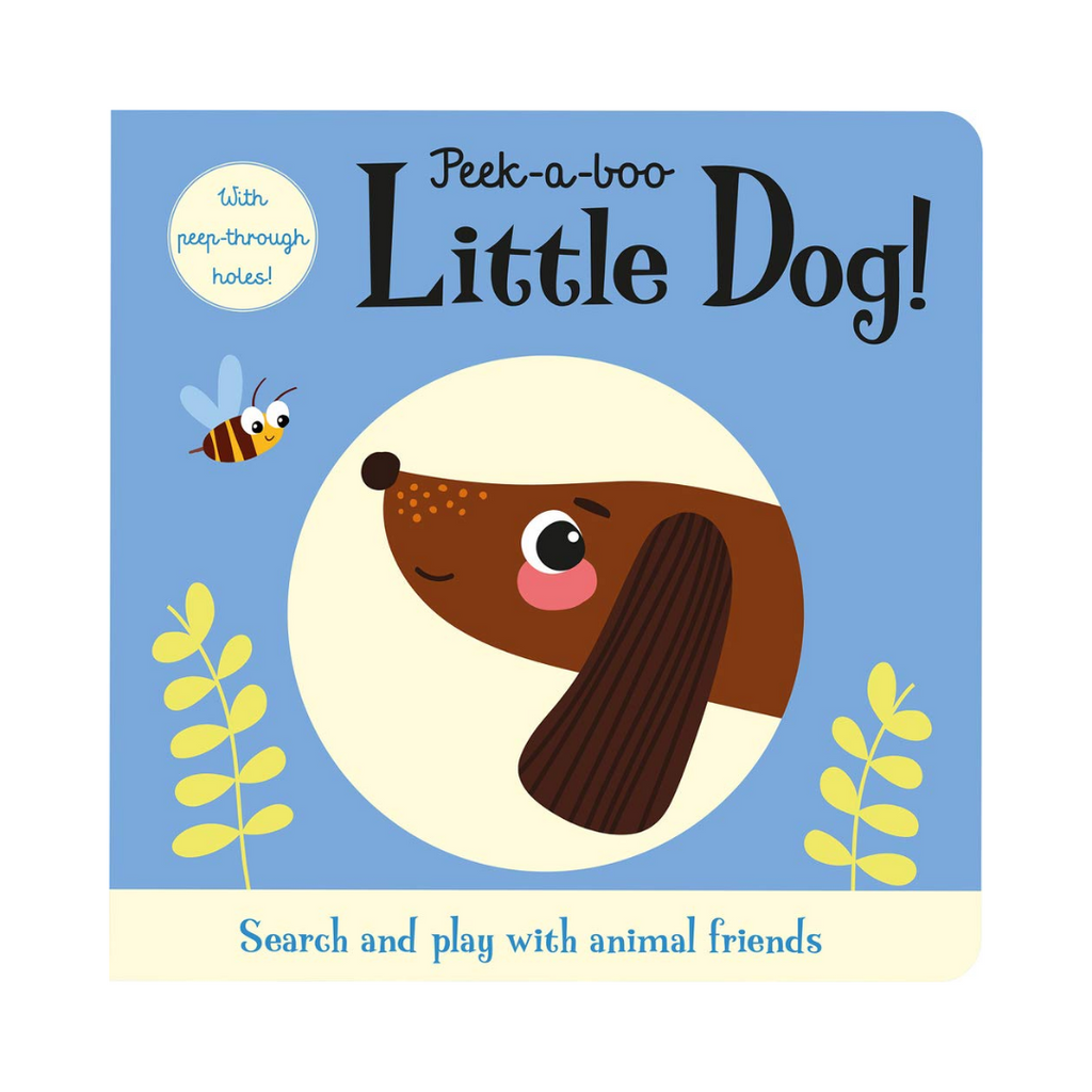 Touch and Trace: Peek A Boo Little Dog (Board Book)
