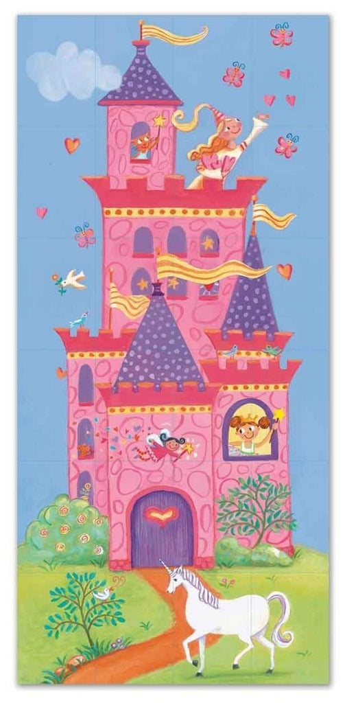 Peaceable Kingdom Press Princess 2-in-1 Match Up Memory Game & Floor Puzzle