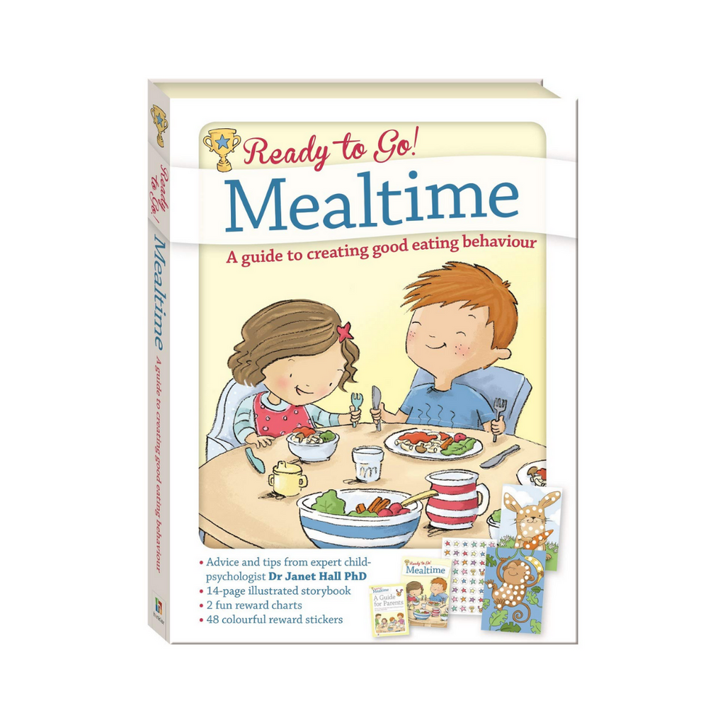 [FOR PARENTS] Ready To Go! Mealtime : A Guide to Creating Good Eating Behavior  (Ages 2+)