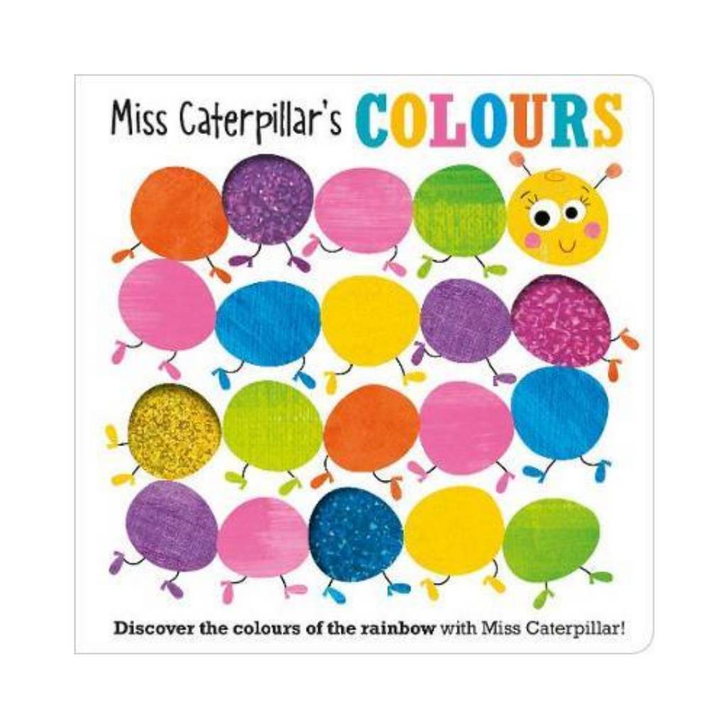 Miss Caterpillar's Colours (Board Book)