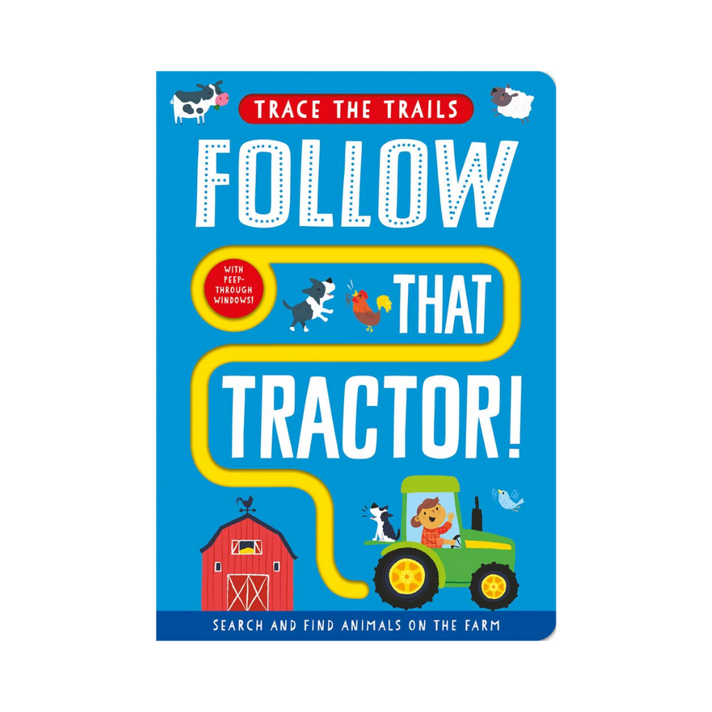 Trace the Trails : Follow That Tractor! (Board Book)