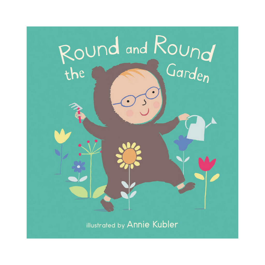 Baby Rhyme Time: Round and Round The Garden (Board Book)