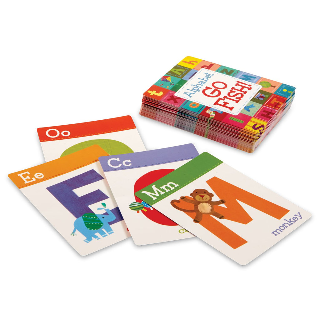 Peaceable Kingdom Alphabet Go Fish Letter Matching Card Game