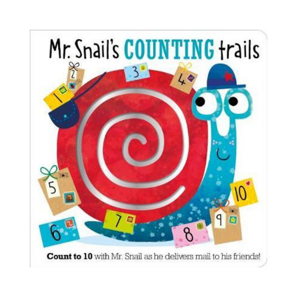 Mr. Snail's counting Trails (Board Book)