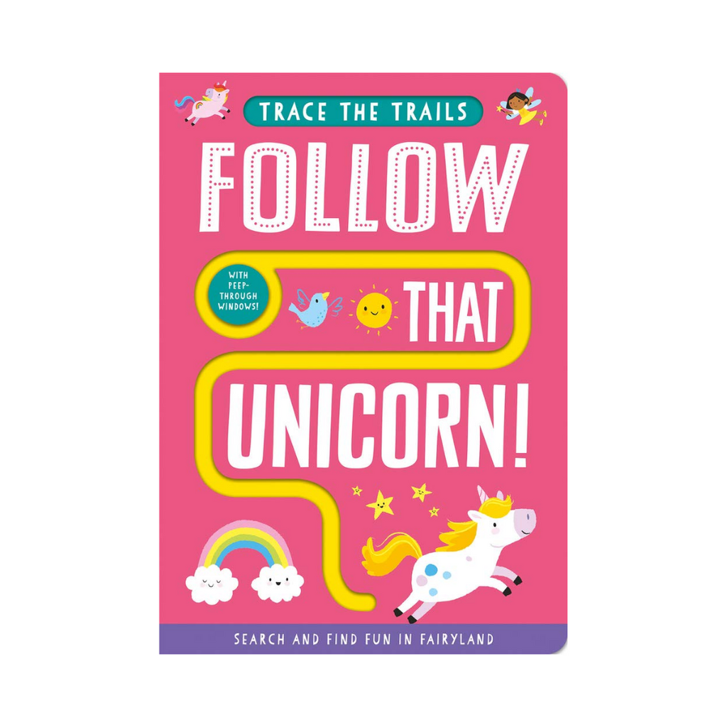 Trace the Trails : Follow That Unicorn! (Board Book)