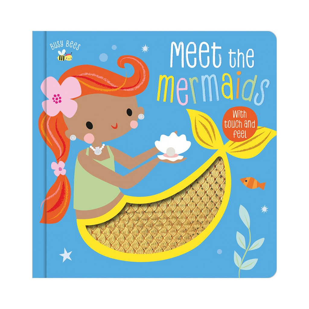 Busy Bees : Meet The Mermaids (Board Book)